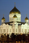 Cathedral of Christ the Savior closeup — Stock Photo