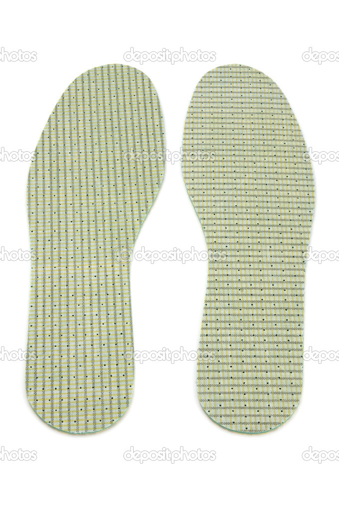 Object on white - clothes insole shoe — Stock Photo #1688873