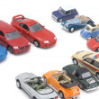Model toy car — Stockfoto