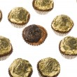 Stock Photo: Chocolate confectionery macro