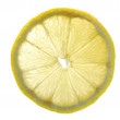Lemon in water close up — Stock Photo