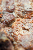 Pork chop macro — Stock Photo