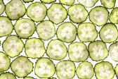 Lobule cucumber — Stock Photo