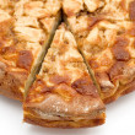 Piece Apple pie — Stock Photo
