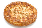 Round Apple pie — Stockfoto