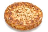 Tarta de manzana redondo — Foto de Stock