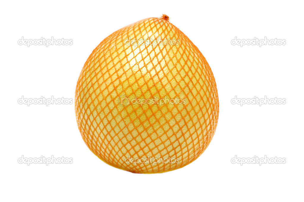 Object on white - food - fruit  pomelo — Stock Photo #1741552