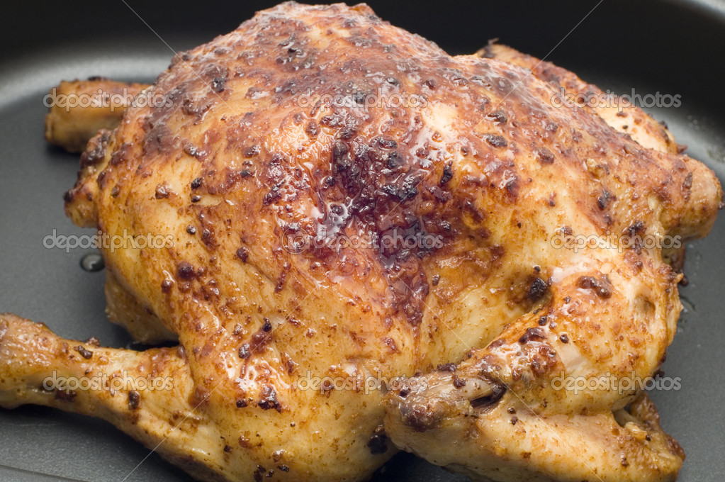 Roast chicken — Stock Photo © Garry518 #1743817