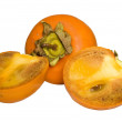 Royalty-Free Stock Photo: Three persimmon
