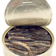 Stock Photo: Canned fish