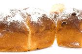 Three bun close up — Stock Photo