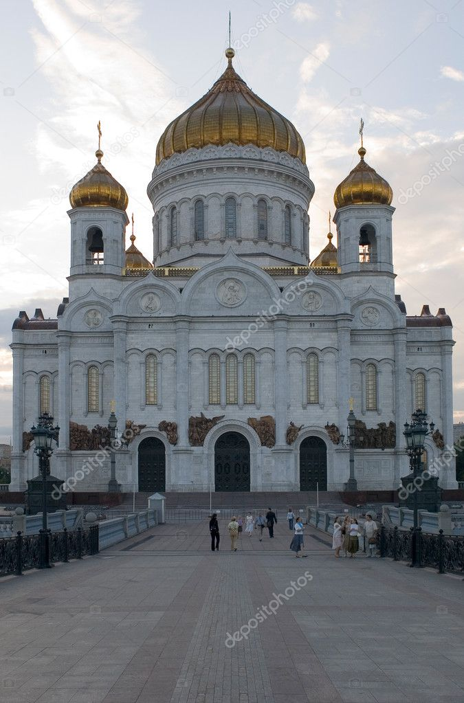 Central cathedral Russia — Stock Photo #1759761