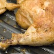 Chicken leg grill — Stock Photo