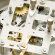 Stock Photo: Close up clockwork