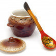 Stock Photo: Earthenware crockery