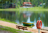 Boating station — Stock Photo