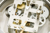 Close up clockwork — Stock Photo