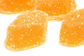 Fruit candy macro — Stock Photo