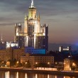 Hotel in Moscow — Stock Photo