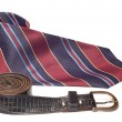 Tie and belt — Stock Photo #1779001