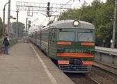 Elektriska tåg — Stockfoto