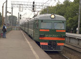 Treno elettrico — Foto Stock