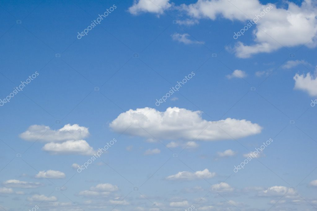Leaden clouds. grey clouds and blue sky — Stock Photo #1773345