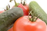 Vegetable macro — Stock Photo