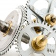 Clockwork macro - Stock Photo