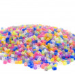 Color beads close up — Stock Photo