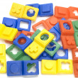 Stock Photo: Color puzzle