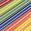Stock Photo: Colored markers extreem close-up