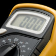 Digital multimeter macro — Stock Photo