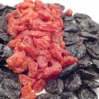 Stock Photo: Dried fruits close up