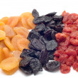 Dried fruits — Stock Photo