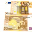 Euro bank-note close up — Stock Photo #1798756