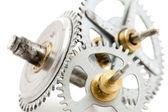 Clockwork macro — Stock Photo