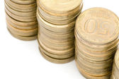 Coin close up — Stock Photo