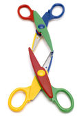 Colored scissors — Stock Photo