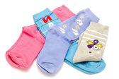 Colored sock — Stock Photo