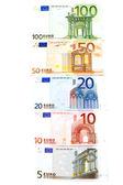 Euro banknot — Stok fotoğraf