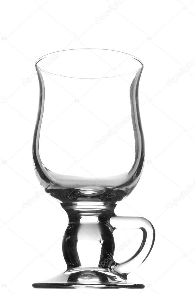 Object on white - kitchen utensil cup for irish coffee — Stock Photo #1794804