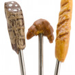 Stock Photo: Forks close up