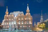 Historiska museet i moskva — Stockfoto
