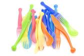 Kök plast gaffel — Stockfoto