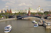 Kremlin and river — Stock Photo