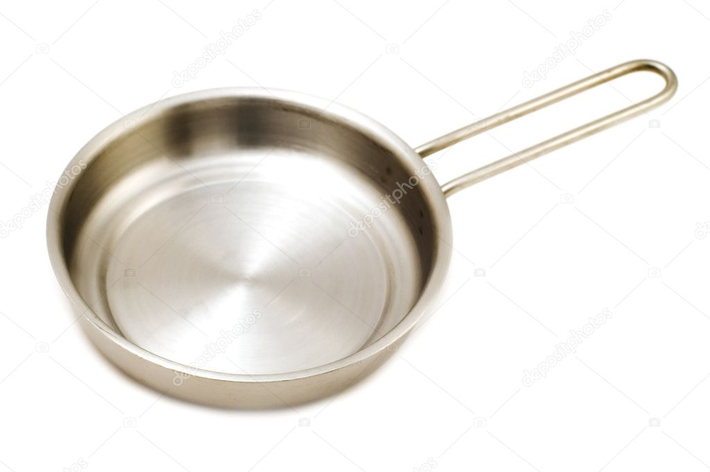 Object on white - kitchen utensil frying pan — Stock Photo #1804518