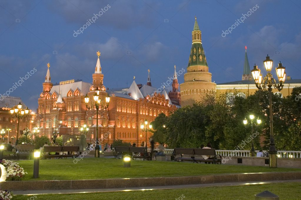 Russia. Moscow manege square near Kremlin  Stock Photo #1808623