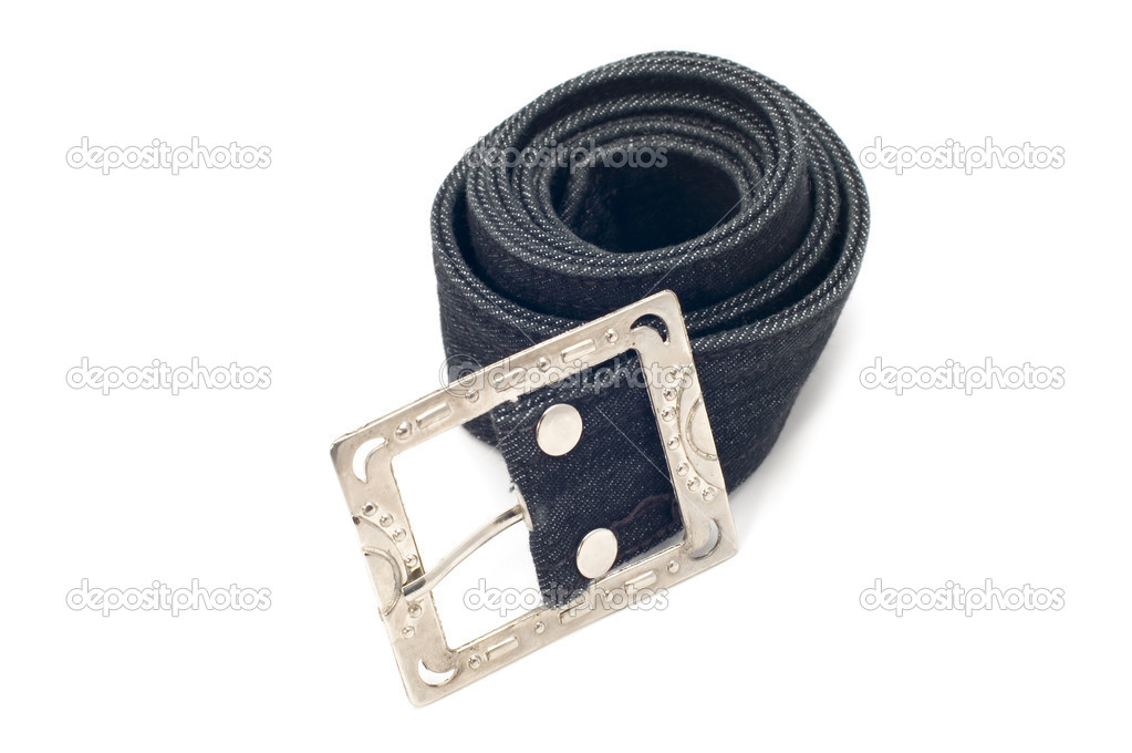 Object on white: - clothes accessory - belt — Stock Photo #1808936
