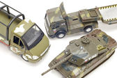 Military transport close up — Photo